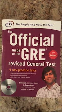 ETS Official GRE  prep book 2nd edition  Reston, 20190