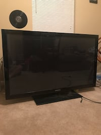 50inch samsung. great condition beside dead pixel line on side of screen.
