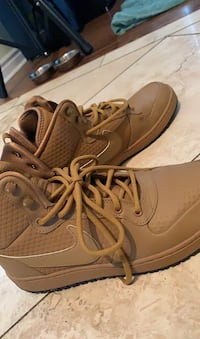 Nike Khaki high tops