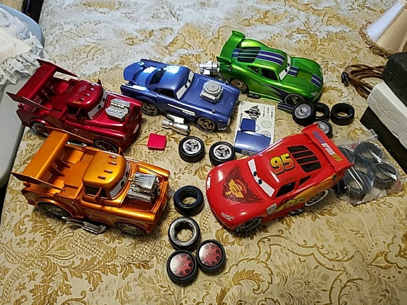 Used Cars Characters Plastic Toys For Sale In Ludlow Letgo