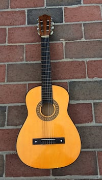 brown and black classical acoustic guitar Gaithersburg, 20879
