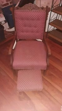 Antique chair with ottomans great shape
