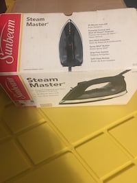 Black sunbeam steam iron box Bellflower, 90706