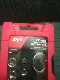 Brand new Skil 22 piece ratchet set Pittsburgh