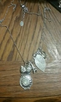 Owl with charms Necklace  Middleport