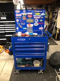 Blue and gray tool chest Fallbrook, 92028