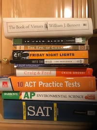 Act and sat prep books and more Clifton, 20124