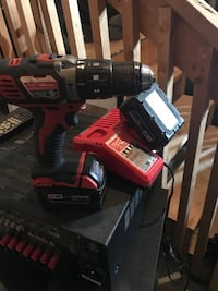 Milwaukee M18 Red lithium XC 4.0 drill and charger  Barrie, L4N 0Z8