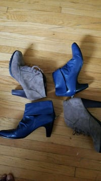 Size 11: Leather & Suede Boots Toronto, M5P 3H5
