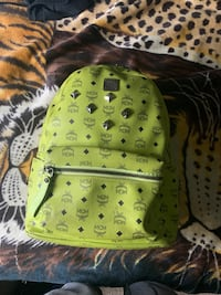 green and black leather backpack Oxon Hill, 20745