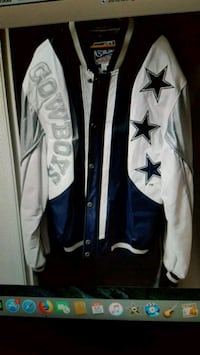 Leather Dallas Cowboys jacket