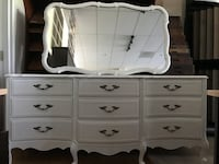 Victorian provincial dresser with mirror  Herndon, 20171