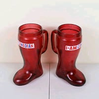 I am Canadian boot glass. 6 available 20$ each Mississauga, L4W 4A1