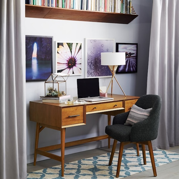 West Elm Midcentury Acorn Desk