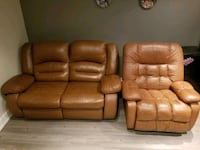 Lazyboy leather love seat and recliner Vaughan, L4L 2P4