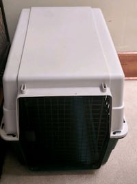 Beige and green Medium pet carrier or kennel Chicago, 60616