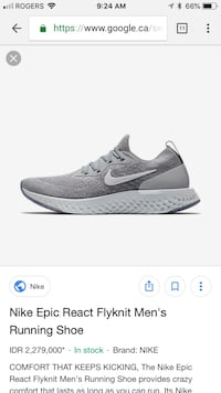 Nike reacts or any other shoes North Vancouver, V7G 2P4