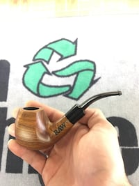 Hand Carved Wood Pipe