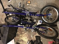 purple and black BMX bike West Hartford