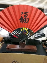 Japanese fan $5 ea. 29 km
