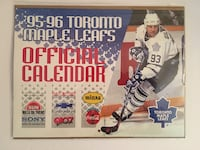 1995/96 Official Toronto Maple Leafs Calendar featuring Doug Gilmore. Check out my other Toronto Maple Leafs items and let's bundle!  Toronto, M6G 4B6