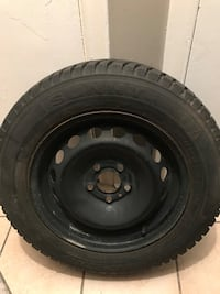 Used Sunny Grip winter tires (used 1 season only).perfect condition.  Toronto, M3M 2G8
