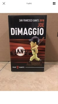 San Francisco Giants joe DiMaggio bobblehead  San Francisco, 94124