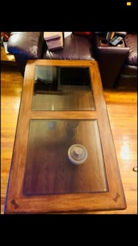 Wood table for living room Dover