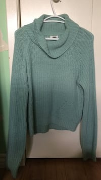 Turquoise long sleeved turtleneck top Vaughan, L4L 2Z9