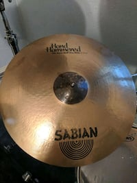 """21"""" Sabian HH Raw Bell Dry Ride Cymbal"""
