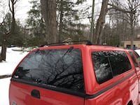 Red 2002 ford 6' fibrobec Longueuil, J3Y