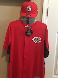 Brand New Joey Votto Jersey and New Era Hat CINCINNATI REDS
