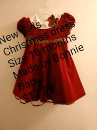 New Christmas dress Size 18 months Wilmington, 28403