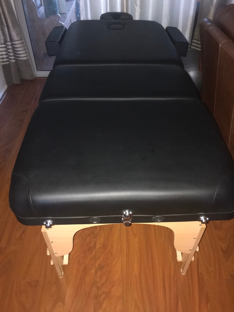 Photo Extra large portable massage table – new