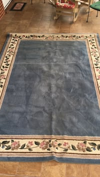 Large blue floral are rug. Johnson City, 37604