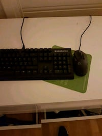 Logitech gaming mus og steelseries gaming keyboard Bergen, 5032