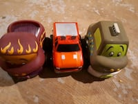 three assorted-color car toys Barrie, L4N 4H2