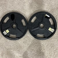 Two Brand New 25 Pound Weight Plates