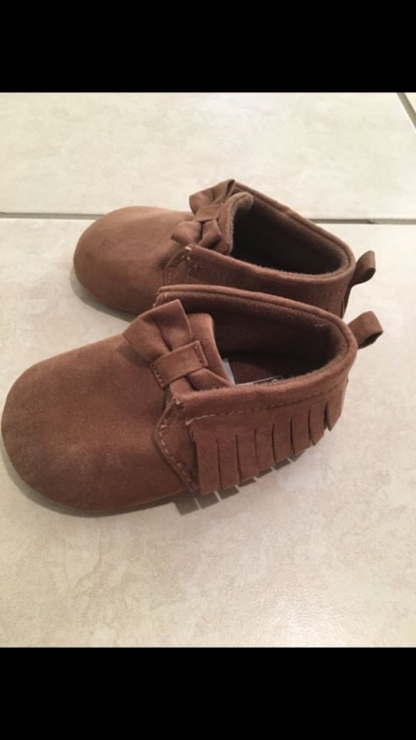 Carter's baby moccasins 1