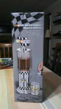 Nascar beverage dispenser