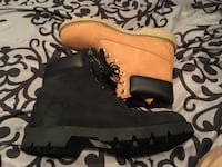 2 pairs of blk and brown timberlands worth169 plus tax size 9 men's Winnipeg, R3G 2R4