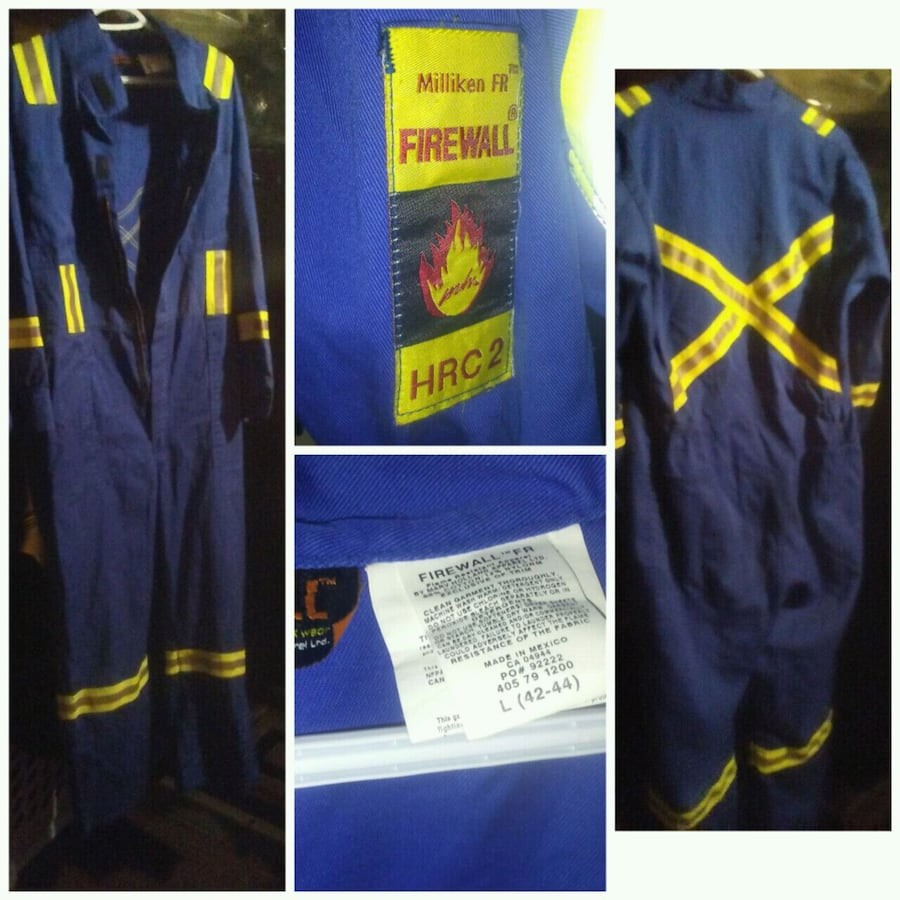 Firewall Coveralls HRC 2