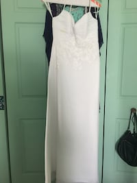 women's white spaghetti strap maxi dress Sykesville, 21784