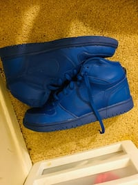 pair of blue Nike Air Force 1 high Alexandria, 22306