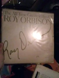 autographed The All-Time Greatest Hits of Roy Orbison vinyl album disc San Marcos, 78666