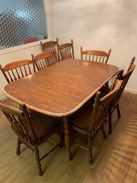 brown wooden dining table set Martinez, 94553