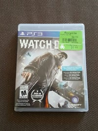 Watch Dogs PS3 game case Montreal, H2J 2Z2