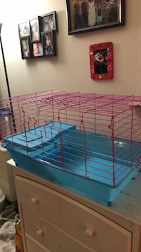 Blue and red pet cage Alexandria, 22304