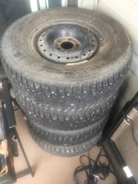 Nokian 15 inch studded winter tires