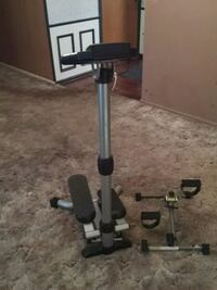 black and gray exercise equipment Fort Wayne, 46815